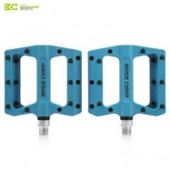 image of BASECAMP BC - 672 PAIRED FASHION NYLON BIKE PEDAL FOR MOUNTAIN ROAD BICYCLE (BLUE) 10.50 x 12.50 x 2.00 cm