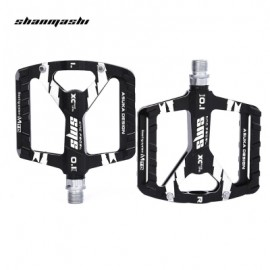 image of SHANMASHI PAIRED OUTDOOR CYCLING ROAD MOUNTAIN BICYCLE PEDAL (BLACK)