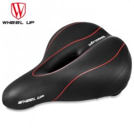 image of WHEELUP MOUNTAIN BIKE SADDLE SEAT TAILLIGHT CYCLING TOOL (RED WITH BLACK) 41.00 x 30.00 x 14.00 cm