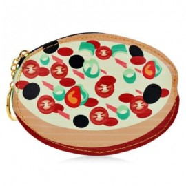 image of GUAPABIEN CREATIVE PATTERN PU LEATHER ZIPPER CLOSURE COIN PURSE (COLORMIX) STRAWBERRY CAKE