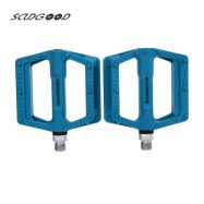 image of SCUDGOOD SG - 1612D SLIP-RESISTANT PAIRED BICYCLE PEDAL (BLUE)