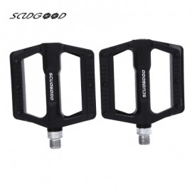 image of SCUDGOOD SG - 1612D SLIP-RESISTANT PAIRED BICYCLE PEDAL (BLACK)