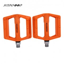image of SCUDGOOD SG - 1612D SLIP-RESISTANT PAIRED BICYCLE PEDAL (ORANGE)