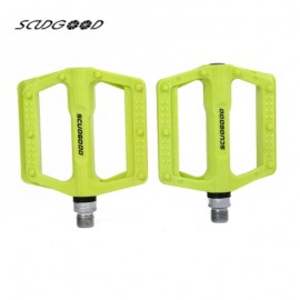 image of SCUDGOOD SG - 1612D SLIP-RESISTANT PAIRED BICYCLE PEDAL (GREEN)