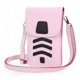 image of LADY CUTE CARTOON SHOULDER DIAGONAL BAG MINI PHONE POCKET ??