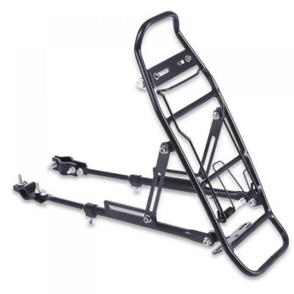 ALUMINUM ALLOY BICYCLE RACK CARRIER REAR LUGGAGE CYCLING SEAT SHELF FOR V-BRAKE BIKE 39.00 x 14.00 x 32.00 cm