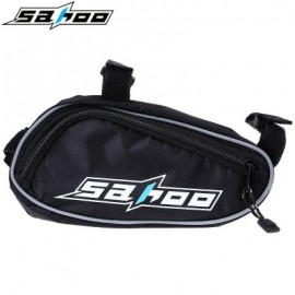 image of SAHOO PORTABLE CYCLING BIKE BICYCLE REPAIR TOOLS BAG MULTIFUNCTIONAL KIT SET WITH POUCH PUMP (BLACK)