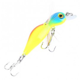 image of 45MMÂ CICADA FISHING BAIT INSECT FISH LURE BAITS TACKLE HOOK (BLUE AND YELLOW) -