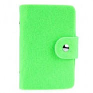 image of SOLID HASP DESIGN SOFT FELT CUTTING FERRULE FOR MEN WOMEN (GRASS GREEN) 11.2cm x 8.2cm x 1.2cm