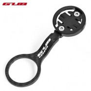 image of GUB CARBON FIBER BIKE HANDLEBAR SPEEDOMETER HOLDER (BLACK)