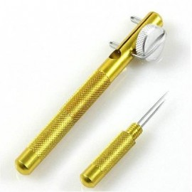 image of NEW ALL-METAL FISH HOOK KNOTTING TOOL AND TIE RING MAKING SOLUTION ACCESSORIES (GOLDEN) 0