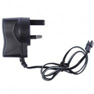 image of FISHING BOAT REMOTE BAIT FINDER CHARGER ADAPTER POWER SUPPLY (BLACK) UK PLUG