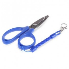 image of FG - 1020 LIGHT LURE PLIER GRIP PINCER NIPPER WIRE CUTTER SCISSOR FISHING KIT (BLUE) -