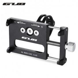 image of GUB G - 85 ALUMINUM ALLOY BICYCLE HANDLEBAR PHONE HOLDER (BLACK)