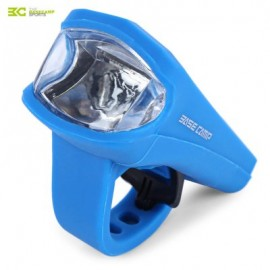 image of BASECAMP MTB BICYCLE 3W LED SILICA GEL WATERPROOF USB CHARGING FRONT LIGHT LAMP BIKE ACCESSORIES (BLUE)
