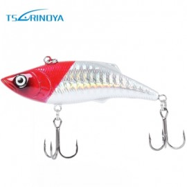 image of TSURINOYA OUTDOOR 4 COLORS FISH ARTIFICIAL BAIT CRANKBAIT TACKLE FISHING LURE WITH HOOK (COLORMIX) COLOR C