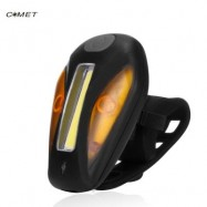 image of COMET USB RECHARGEABLE BICYCLE FRONT LIGHT BIKE TAIL LAMP (BLACK)