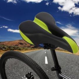 image of YAFEE - 1032 SPORTS BIKE MTB SADDLE RACING BICYCLE HOLLOW SADDLE SEAT (BLACK AND GREEN)