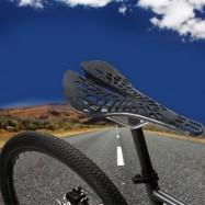image of YAFEE - 1011 - 2 SPORTS BIKE MTB SADDLE RACING BICYCLE HOLLOW SADDLE SEAT (GRAY)