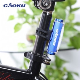 image of CAOKU HY - LD226 MOUNTAIN ROAD BIKE USB RECHARGEABLE TAIL LAMP NIGHT CYCLING SAFETY WARNING LIGHT (BLUE)
