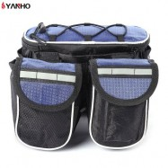 image of YANHO CYCLING PACKET BAG WITH REFLECTIVE STRIPE OUTDOOR TOOL (BLUE)