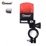 image of ANSUO AZ - 200 BIKE SAFETY WARNING 2 LEDS MAGNETO ELECTRIC BICYCLE TAIL LIGHT (RED)