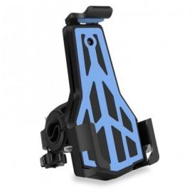 image of CYCLE ZONE ROTATABLE BIKE MOTOR HANDLEBAR PHONE HOLDER (BLUE)