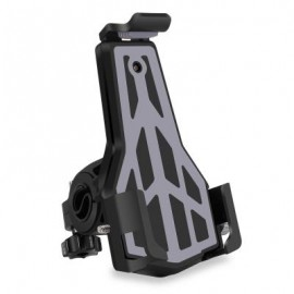 image of CYCLE ZONE ROTATABLE BIKE MOTOR HANDLEBAR PHONE HOLDER (GRAY)