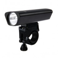 image of OUTDOOR ALUMINUM ALLOY BICYCLE LED FRONT LIGHT WITH FRAME SET (BLACK)