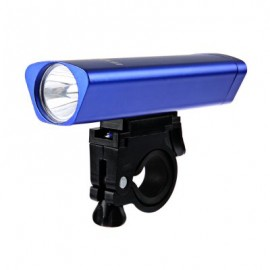 image of OUTDOOR ALUMINUM ALLOY BICYCLE LED FRONT LIGHT WITH FRAME SET (BLUE)