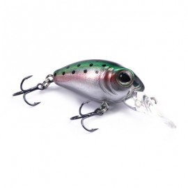 image of DW40 32MM TRULINOYA BARE KING MINI FISHING LURE HARD BAIT WITH HOOK FISHING GEAR (GREEN) DW40-E
