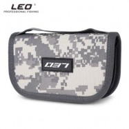 image of LEO PORTABLE FISHING LURE HOOK BAIT POUCH METAL SEQUIN BAG (URBAN CAMOUFLAGE) 0