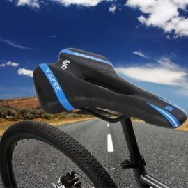 image of YAFEE - 1019 SPORTS BIKE MTB SADDLE RACING BICYCLE HOLLOW SADDLE SEAT (BLUE AND BLACK)