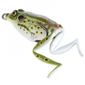 image of FRESHWATER RAY FROG FISHING LURE HOOKS FISH BAIT TACKLEÂ  (GREEN) -