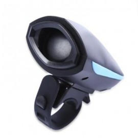 image of OUTDOOR BIKE CYCLING HORN SAFETY BICYCLE ELECTRIC BELL EQUIPMENT (BLUE AND BLACK)