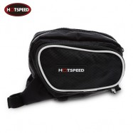 image of HOTSPEED OUTDOOR BICYCLE FRAME TUBE BIKE BAG (BLACK)