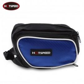 image of HOTSPEED OUTDOOR BICYCLE FRAME TUBE BIKE BAG (BLUE)