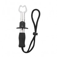 image of BL - 026 STAINLESS STEEL UTILITY FISH GRIPPER FOR OUTDOOR FISHING (BLACK) -