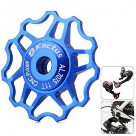 image of KACTUS A09 JOCKEY WHEEL REAR DERAILLEUR PULLEY FOR SHIMANO SRAM / 7 / 8 / 9 / 10 SPEED (BLUE)