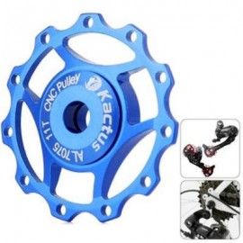 image of KACTUS A10 GUIDE ROLLER WHEEL REAR DERAILLEUR PULLEY FOR SHIMANO SRAM / 7 / 8 / 9 / 10 SPEED (BLUE)