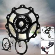 image of KACTUS A10 GUIDE ROLLER WHEEL REAR DERAILLEUR PULLEY FOR SHIMANO SRAM / 7 / 8 / 9 / 10 SPEED (BLACK)