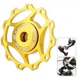 image of KACTUS A10 GUIDE ROLLER WHEEL REAR DERAILLEUR PULLEY FOR SHIMANO SRAM / 7 / 8 / 9 / 10 SPEED (GOLDEN)