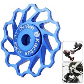 image of KACTUS GUIDE ROLLER WHEEL REAR DERAILLEUR PULLEY FOR SHIMANO SRAM / 7 / 8 / 9 / 10 SPEED (BLUE)