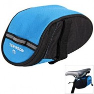 image of ROSWHEEL 13567 BIKE BICYCLE CYCLING SADDLE BAG REAR TAIL BACK SEAT FASHION POUCH BAG FOR MOUNTAIN BIKE OUTDOOR (BLUE)