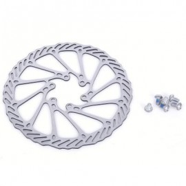 image of G3 160MM MTB BICYCLE BRAKE ROTOR HYDRAULIC DISC WITH SCREWS 16.00 x 16.00 x 0.20 cm