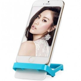 image of PHONE STAND HOLDER BRACKET FOR IPHONE 6 / 6 PLUS SAMSUNG HTC ETC. (BLUE) -