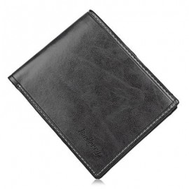 image of SOLID COLOR LETTER OPEN HORIZONTAL WALLET FOR MEN (GRAY) HORIZONTAL