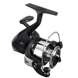 image of SPINNING FISHING REELS ELECTROPLATE WEEL SMALL VESSELS (BLACK) 0