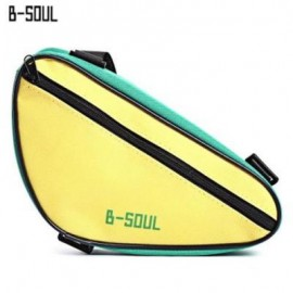 image of B - SOUL CYCLING FRONT TUBE FRAME TRIANGLE PANNIER POUCH MOUNTAIN BIKE HANDLEBAR BAG (#02)