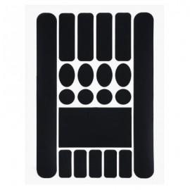 image of OUTDOOR PURE BICYCLE STICKERS (BLACK)